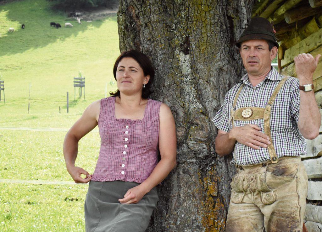 Bewirtschaftung am Biohof Thurnergut