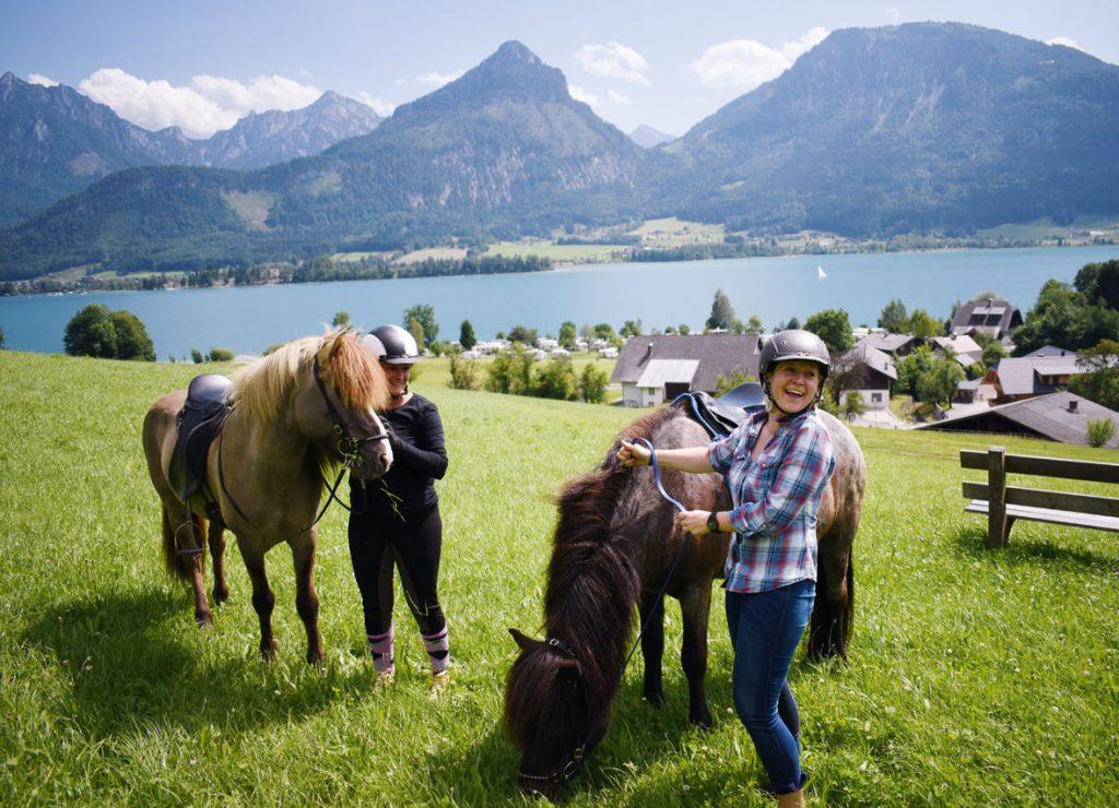 Ausritt mit Pferdeprofi Susanne vom Suassbauernhof