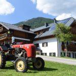 Steyrer Traktor am Reiterhof Suassbauer