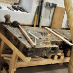 Holzwerkstatt am Urlaub am Bauernhof Kaspergut im Innviertel