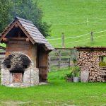 Brotbackofen am Urlaub am Bauernhof Kaspergut im Innviertel