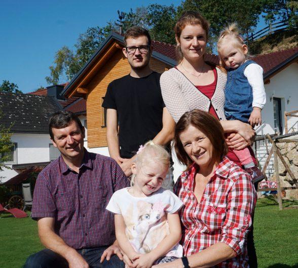 Familie Kriechbaumer Urlaub am Bauernhof Löschgruberhof Mühlviertel