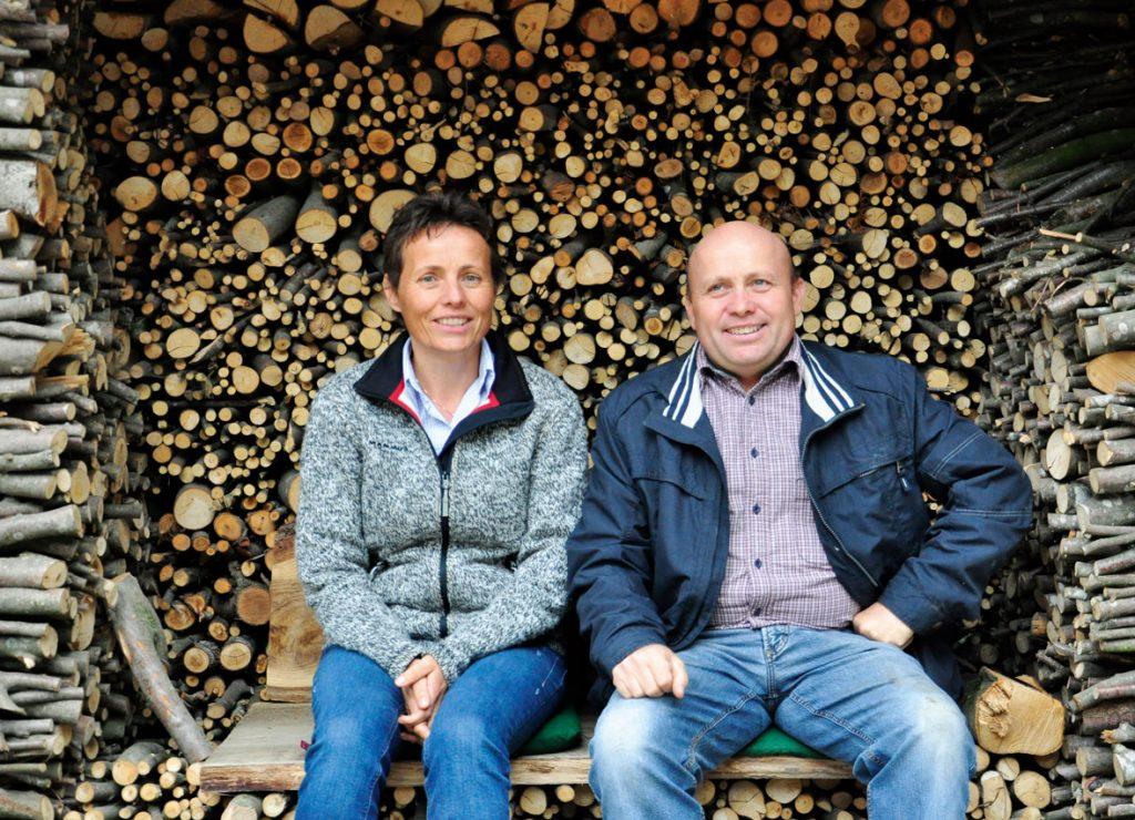 Geschwister-Team-Work am Kaspergut: Elisabeth und Hans