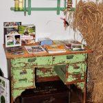 Altes Tischchen clever genützt am Kaspergut im Innviertel