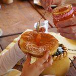 Selbstgemacht: Bauernkrapfen mit Marmelade, Löschgruberhof, Mühlviertel