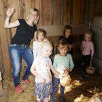 Eiersuche Urlaub am Bauernhof Löschgruberhof Mühlviertel