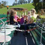 Traktorfahrt Urlaub am Bauernhof Löschgruberhof Mühlviertel