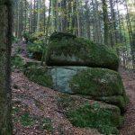 Granitblöcke Urlaub am Bauernhof Löschgruberhof Mühlviertel