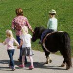 Pony reiten Urlaub am Bauernhof Löschgruberhof Mühlviertel