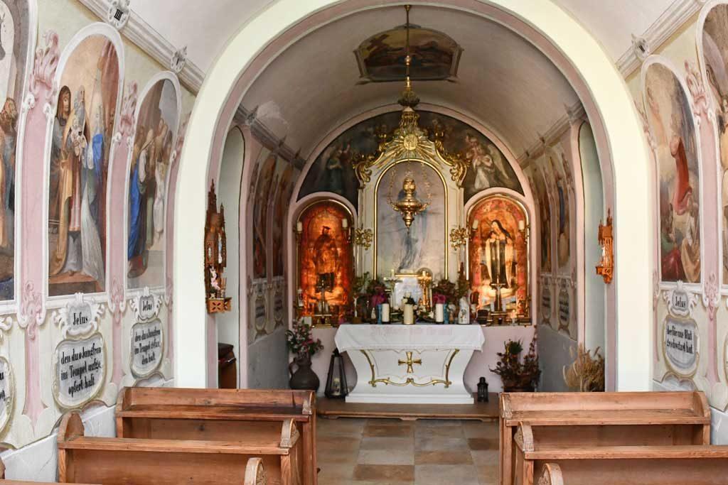 Hauskapelle am Ferienhof Turmkeller