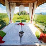 Panoramabett am Urlaub am Bauernhof Hochhubergut